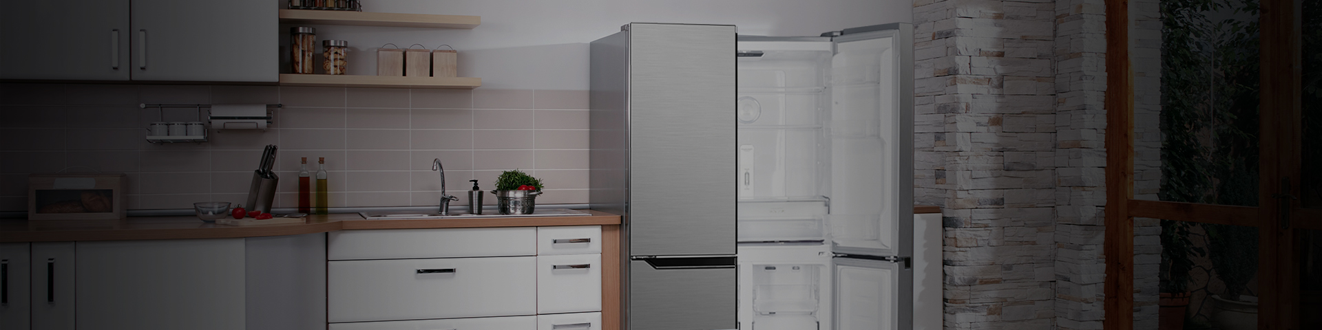 473L French Door Fridge