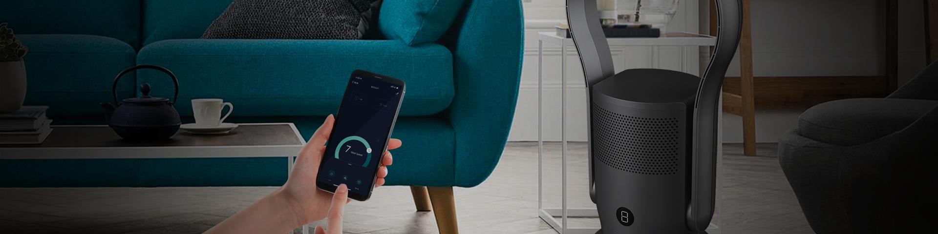 Bladeless Purifier with Wi-Fi Control